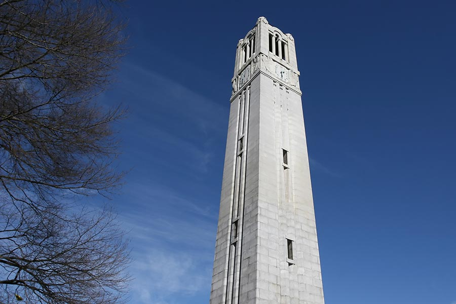 North Carolina State University Bell Tower.