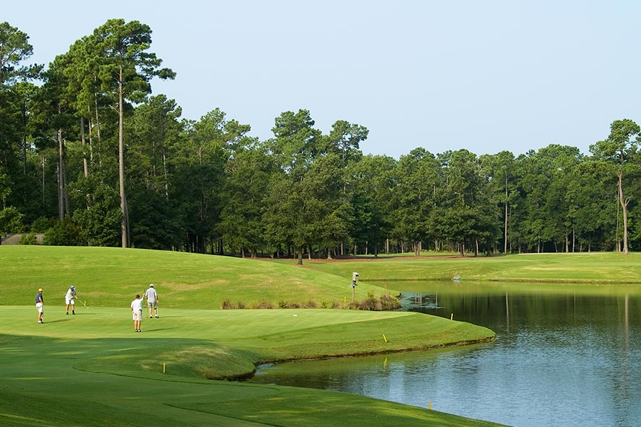 Myrtle Beach maintains over 250 golf courses and is often referred to as the golf capital of the world.