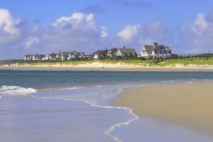 Pawleys Island offers some of the areas most impressive oceanfront real estate.