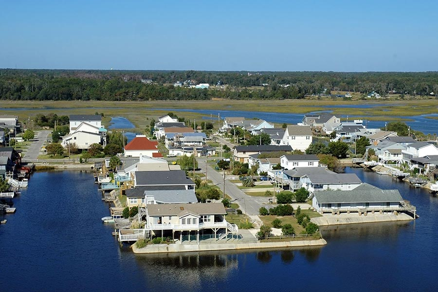 Intracoastal waterway, Cherry Grove, SC