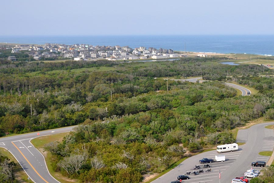 Buxton from Cape Hatteras Lighthouse