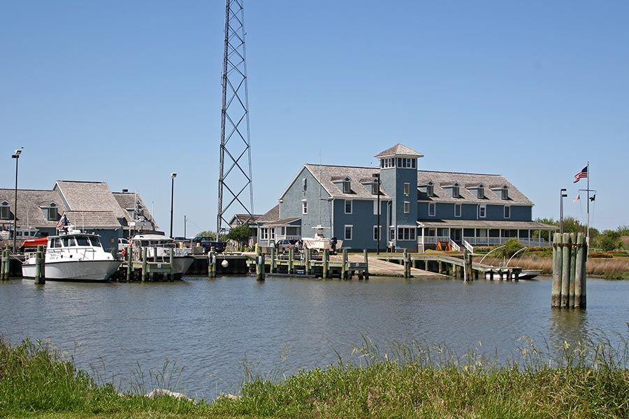 The Pea Island Coastguard Station.