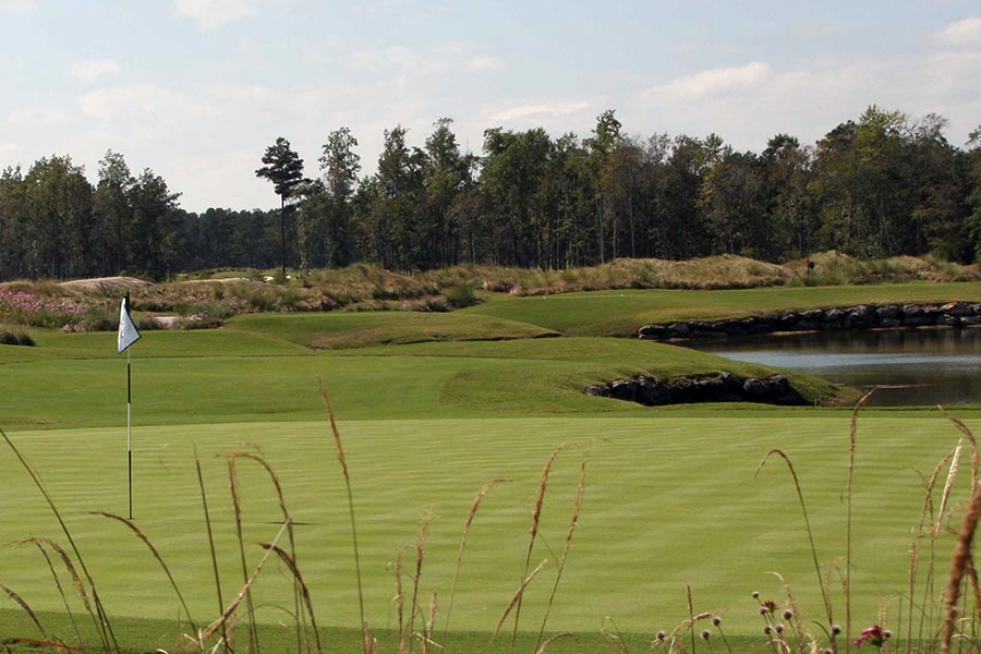 The Wilmington area is home to a number of award wining golf courses.
