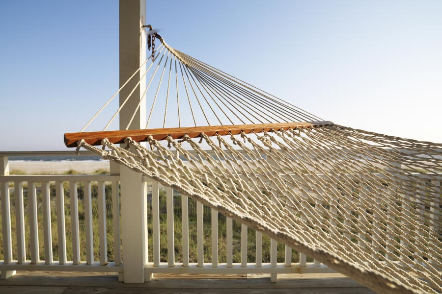 Wilmington's warm climate make the hammock a necessity for all residents.