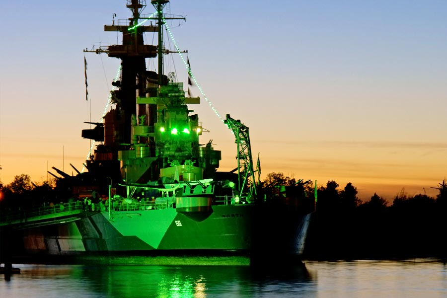 The Battleship North Carolina is a Wilmington attraction that draws thousands of visitors each year.