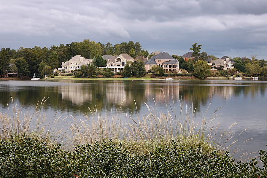 The Charlotte area maintains some incredible waterfront properties from Lake Norman to Lake Wylie and areas in between.