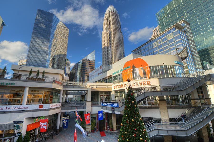 EpiCentre is a half-million square-foot entertainment complex in Charlotte that offers shopping, dining and entertainment options for everyone.