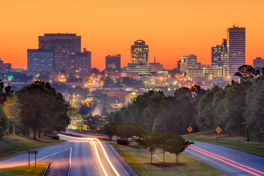South Carolina's capital city, Columbia is just an hour and a half drive to the southeast.